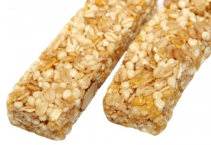 Barritas de cereales o energéticas.